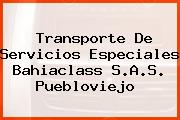Transporte De Servicios Especiales Bahiaclass S.A.S. Puebloviejo