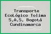 Transporte EcoLógico Tolima S.A.S. Bogotá Cundinamarca