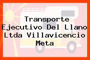 Transporte Ejecutivo Del Llano Ltda Villavicencio Meta