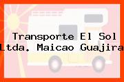 Transporte El Sol Ltda. Maicao Guajira