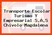 Transporte Escolar Turismo Y Empresarial S.A.S Chivolo Magdalena