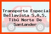 Transporte Especial Bellavista S.A.S. Tibú Norte De Santander