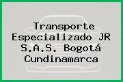 Transporte Especializado JR S.A.S. Bogotá Cundinamarca