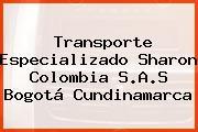 Transporte Especializado Sharon Colombia S.A.S Bogotá Cundinamarca