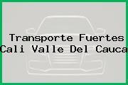 Transporte Fuertes Cali Valle Del Cauca