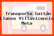 Transporte Gaitán Llanos Villavicencio Meta