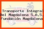 Transporte Integral Del Magdalena S.A.S. Fundación Magdalena