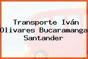 Transporte Iván Olivares Bucaramanga Santander