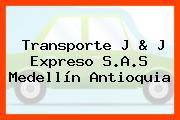 Transporte J & J Expreso S.A.S Medellín Antioquia