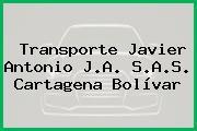 Transporte Javier Antonio J.A. S.A.S. Cartagena Bolívar