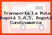 Transporte La Ruta Bogotá S.A.S. Bogotá Cundinamarca