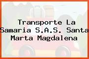 Transporte La Samaria S.A.S. Santa Marta Magdalena