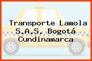 Transporte Lamola S.A.S. Bogotá Cundinamarca