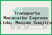 Transporte Maracaibo Express Ltda. Maicao Guajira