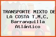 TRANSPORTE MIXTO DE LA COSTA T.M.C. Barranquilla Atlántico