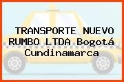 TRANSPORTE NUEVO RUMBO LTDA Bogotá Cundinamarca