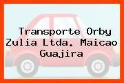 Transporte Orby Zulia Ltda. Maicao Guajira