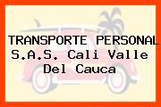 TRANSPORTE PERSONAL S.A.S. Cali Valle Del Cauca