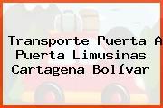 Transporte Puerta A Puerta Limusinas Cartagena Bolívar
