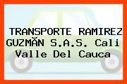 TRANSPORTE RAMIREZ GUZMÃN S.A.S. Cali Valle Del Cauca