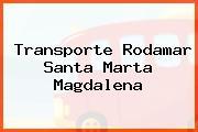 Transporte Rodamar Santa Marta Magdalena