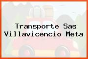 Transporte Sas Villavicencio Meta