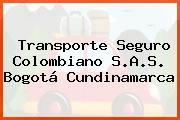 Transporte Seguro Colombiano S.A.S. Bogotá Cundinamarca