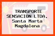 TRANSPORTE SENSACION LTDA. Santa Marta Magdalena