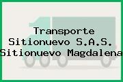 Transporte Sitionuevo S.A.S. Sitionuevo Magdalena
