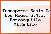 Transporte Sonia De Los Reyes S.A.S. Barranquilla Atlántico