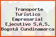 Transporte Turístico Empresarial Ejecutivo S.A.S. Bogotá Cundinamarca