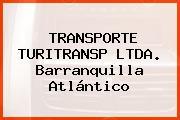 TRANSPORTE TURITRANSP LTDA. Barranquilla Atlántico