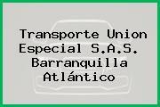 Transporte Union Especial S.A.S. Barranquilla Atlántico