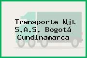 Transporte Wjt S.A.S. Bogotá Cundinamarca