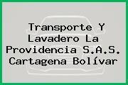 Transporte Y Lavadero La Providencia S.A.S. Cartagena Bolívar