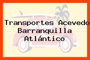 Transportes Acevedo Barranquilla Atlántico