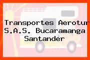 Transportes Aerotur S.A.S. Bucaramanga Santander