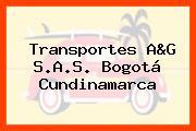 Transportes A&G S.A.S. Bogotá Cundinamarca