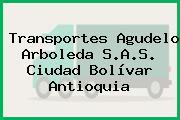 Transportes Agudelo Arboleda S.A.S. Ciudad Bolívar Antioquia