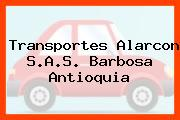 Transportes Alarcon S.A.S. Barbosa Antioquia