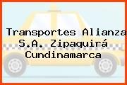 Transportes Alianza S.A. Zipaquirá Cundinamarca