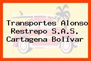 Transportes Alonso Restrepo S.A.S. Cartagena Bolívar