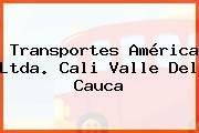 Transportes América Ltda. Cali Valle Del Cauca