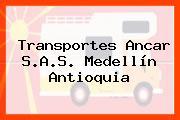 Transportes Ancar S.A.S. Medellín Antioquia