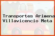 Transportes Arimena Villavicencio Meta