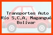 Transportes Auto Río S.C.A. Magangué Bolívar