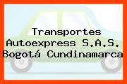 Transportes Autoexpress S.A.S. Bogotá Cundinamarca