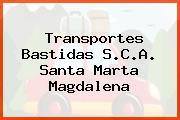 Transportes Bastidas S.C.A. Santa Marta Magdalena