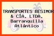 TRANSPORTES BESIMOR & CÍA. LTDA. Barranquilla Atlántico