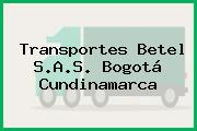 Transportes Betel S.A.S. Bogotá Cundinamarca